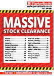 ParkerTools Clearance Stock
